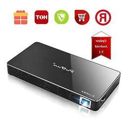 Projector,PoFun Mini Portable Bluetooth Video Andriod 7.1 Pr