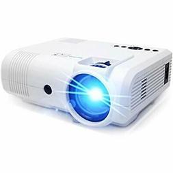 Projector,PoFun  +50% Lumens Mini Portable Full