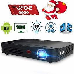 Projector 3500lumens Mini Portable DLP 3D Video Projector Ma