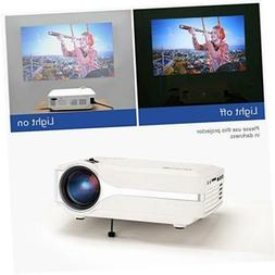 Blusmart LED-9400 Video Projector, 2018 Upgraded +70% Bright