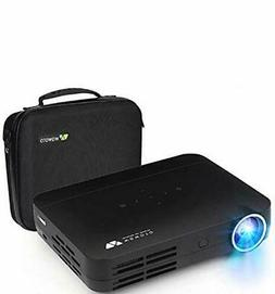 Projector WOWOTO H10 4500 Lumens Mini Projector Android 6.0