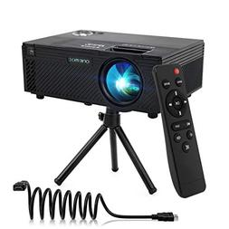 Video Projector | 2400 Lumens Home Video Projector | Mini Pr