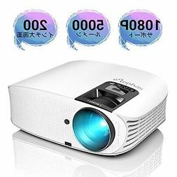 Projector LED 4200Lm 1080P Full HD Connection YG600W Elephas