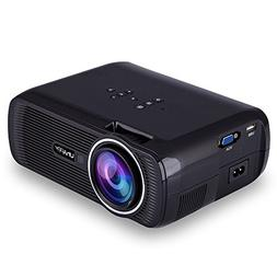ESoku 1080P Full HD Projector, LED Mini Portable Home Theate