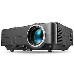 PHOOTA Mini Projector, 2019 Upgraded Portable LED Video Proj