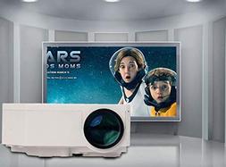 PinShang Projector HD Mini LED Projector Support HDMI Portab