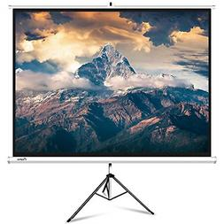 Projector Screen with Stand, ELEPHAS Portable 100 Inch 4: 3
