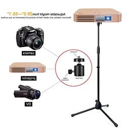 Projector Stand,Portable Adjustable Tripod Mount Floor Stand