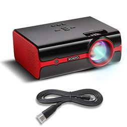 """Paick Projector LED Video Projector 180"""" Big Screen Upgraded"""