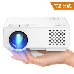 Projector, Upgraded DBPOWER Mini Video, Multimedia Home Thea