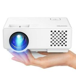 Projector, Upgraded DBPOWER Mini Video Projector, Multimedia