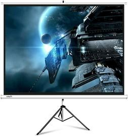 Projector Screen with Stand, ELEPHAS M100S 100 Inch 4: 3 4K
