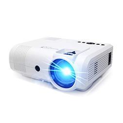 Projector,PoFun  +50% Lumens Mini Portable Projector,LED Ful