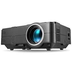 Projector, PHOOTA Mini Projectors, 2200 Lumen, Portable LED