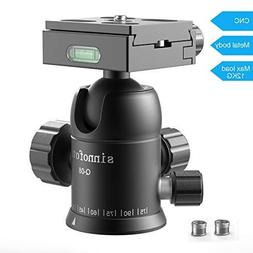 Sinnofoto Q08U Exquisite CNC Shaped Camera Tripod Ball Head