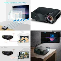 "Ragu Z400 Mini Projector, 2019 Upgraded Full Hd 1080P 180"" D"