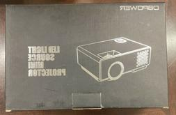 rd 810 mini projector white used once