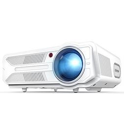 DBPOWER RD-819 Projector, 3200 Lumens LCD Video Projector, M