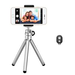 Retractable Universal Portable Tripod <font><b>Stand</b></fo
