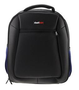 Navitech Rugged Black Backpack / Rucksack / Carry Case For T