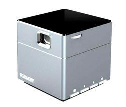 TENKER S6 Mini Cube Pico DLP Wireless  1080p build-in speake