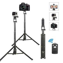 Selfie Stick Tripod,Extendable Portable Selfie Stick with Bl