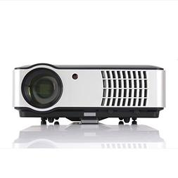 Smart Android 6.0 Projector, Gzunelic 4000 lumens WiFi 1080p