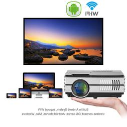 Smart Mini Android LED Projector Blue-tooth Home Theater HDM