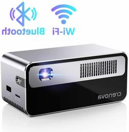 "Crenova XPE460 Video 180"" Full HD 1080P Mini Projector - Whi"