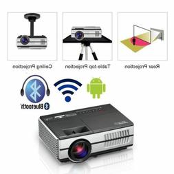 EUG Smart Mini Video 1500Lumen Projector Home Theater Movie