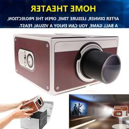 Smart Phone Projector Mini Theater Cinema Screen Amplifier f