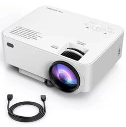 t2 mini projector 1500lm white version free