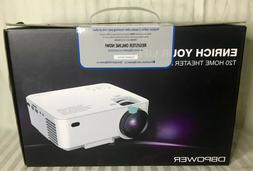 DBPower T20 LCD Home Theater Mini Video Projector 1080P HDMI