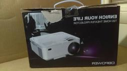 DBPower T20 LCD Multimedia Home Theater Video Projector - Ne