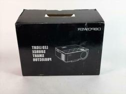 DBPOWER T20 portable mini LED projector PREOWNED