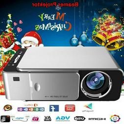 T6 Mini 5000 Lumens Full HD Video LED Home Theater Projector