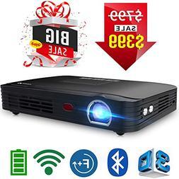 t8e mini portable projector wifi