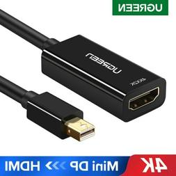 UGREEN Thunderbolt Mini DisplayPort DP to HDMI AV Adapter Fo