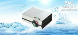 U45 1600 lumens 1080P Multimedia Portable HD LED Projector M