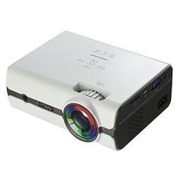 U45 1080P Multimedia Portable HD LED Projector 1600 lumens M