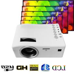 UC18 Mini Pocket HD 1080p Portable LCD Projector For Home Ci