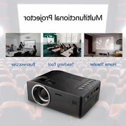 "UC18 Mini Portable LCD Projector 1080P 60"" LED Video Project"