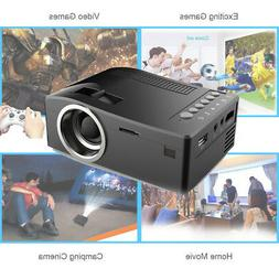 "UC18 Portable LCD Projector 1080P 60"" LED Video Projection f"