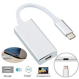 FidgetFidget 4K USB-C Type C USB 3.1 to Mini Display Port DP