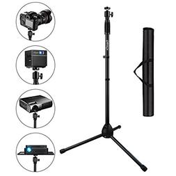 ExquizOn Tripod Stand Portable 180°Rotation Height Adjustab