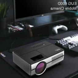 Video Mini 2800lm LED Projector Portable Home Theater USB Wi