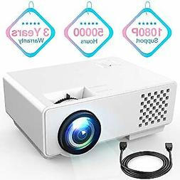 "Video Projector R RD810 Portable Mini Projector, 176"" Displa"