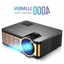 XIAOYA W5 Native 720P Mini Movie Projector with HiFi Speaker
