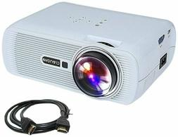 xpe460 portable mini movie projector led hdmi