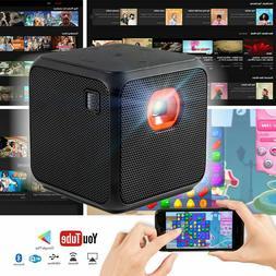 xprit mini projector home theater wifi bluetooth